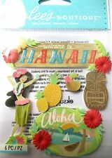 Jolee's Boutique Hawaii Exotic Holiday Scrapbook Craft Stickers Embellishment