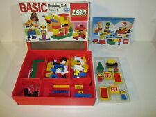 Lego Basic Building Set #330 100% Complete Vintage 1985 In Box
