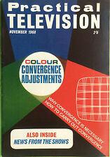 Practical Television Magazine - November 1968 - Colour Convergence Adjustments