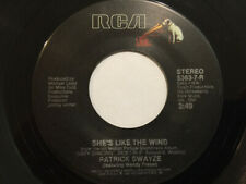 "Patrick Swayze Featuring Wendy Fraser - She's Like The Wind (7"", Single)"