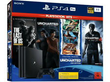 Sony Playstation 4 PS4 1TB PRO Console HITS+The Last Of Us+Uncharted Collection
