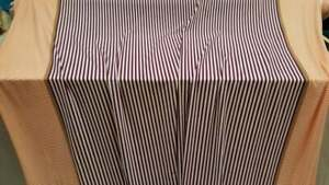 Orange purple whithe stripes spandex 4 way stretch fabric sold by the yard swimw