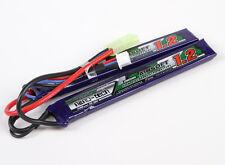 Turnigy Nano-Tech 1200mAh 2S 25C 50C 7.4V Lipo Battery Airsoft Mini Molex Split
