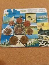 greece 2013 euro coin set 'mykonos'