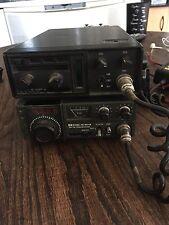 Icom IC-245 & IC-230 VHF FM Transceivers + 2 Drake 1525EM Handmikes