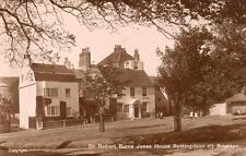 Sir Robert Burne Jones House Rottingdean Nr Brighton unused RP pc