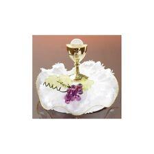 dekora 13 cm 13 cm Bianco Statuetta Decorativa per Torta della Prima Comunione