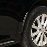 Car Truck Rubber Mud Flaps Mud Guard Fender Fiber Look Front Rear SL