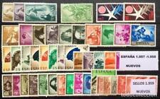 SELLOS DE ESPAÑA AÑO 1957** 1958** 1959** NUEVOS SIN HOJAS DE BRUSELAS