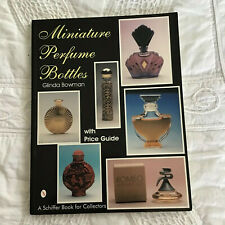 Schiffer Miniature Perfume Bottles Price Guide Glinda Bowman 1994 160 pgs