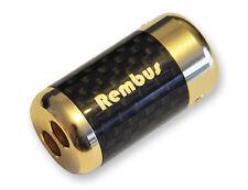 Rembus High End Carbon Lautsprecherkabel Kabel - Splitter 24K vergoldet CS-236