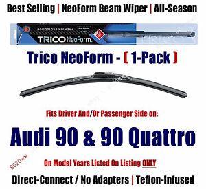 Super Premium NeoForm Wiper Blade Qty 1 fits 1988-95 Audi 90 & 90 Quattro 16210