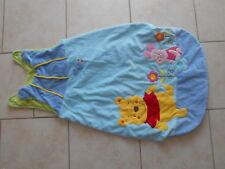 grande turbulette velours tout doux pour bébé winnie l'ourson disney gigoteuse