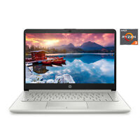 "NEW HP 14"" HD AMD Ryzen 3 3.5GHz 4GB 128GB SSD Radeon Vega 3 Windows 10 Laptop"