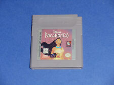 Disney's Pocahontas (Nintendo Game Boy, 1996) TESTED WORKING SEE PICTURES