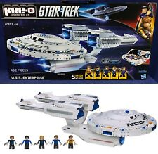 New U.S.S. ENTERPRISE Star Trek KRE-O A3137 BUILDING SET Construction SPACE SHIP