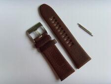 DIESEL Original Ersatzband Lederarmband DZ1399 Uhrband braun watch strap 27 mm