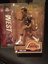 "NEW McFarlane Toys 6"" NBA Legends Series 2 - Jerry West LA lakers"