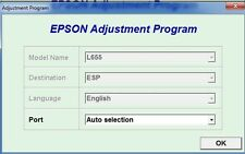 Reset Epson L655, L656 Reset ink pads counter