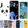 For Xiaomi Redmi 8 8A 7 Note 8 7 6 Pro Slim Soft Silicone Painted TPU Case Cover