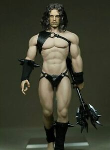 """SEXY BARBARIAN MALE WARRIOR INSPIRED 1:6 SCALE 12"""" POSABLE MALE FIGURE **NEW"""