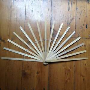 Bamboo Hand Fan Staves 12 inch making feather silk fans Burlesque DIY Costume