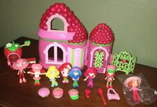 Strawberry Shortcake Berry House Play Set Doll House Accessories Berry Friends