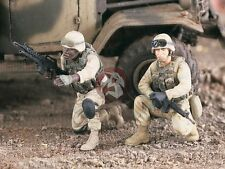 Verlinden 1/35 US Infantry on Standby in Iraq War (2 Figures) [Resin kit] 2183