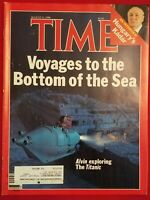 TIME MAGAZINE, The Titanic, August 11, 1986.  Very Good!  Please See All 12 Pics