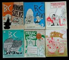 Vintage Comic lot of 6 BC, Tumbleweeds, Crock, Frank & Ernest