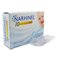 Narhinel 10 Ricambi Usa e Getta Soft Igiene Naso Bambini e Neonati