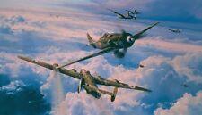ROBERT TAYLOR Savage Skies B-24 Liberator FW-190D-9 JG-54 453rd BG Green Hearts