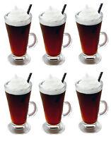 LARGE / TALL LATTE TEA COFFEE CUP MUG SET of 6