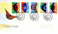 """1998 FDC. Butterflies of Australia. P&S. PictPMK """"CAIRNS"""" Orig PO Packaging."""