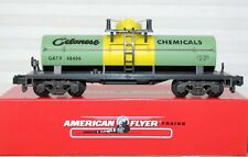 American Flyer Celanes Chemical Tank Car MIB 6-48406 New