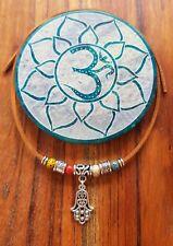 Anklet 50% OFF Yoga Hamsa Hand Gypsy Beads Suede Leather Choker Bracelet ♡