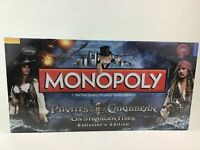 Monopoly Pirates Of The Caribbean Stranger Tides Collectors Edition Board Game