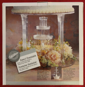 NEW!! Wilton Fanci Fountain - Elegant Decoration for Sweet Tables -wedding Cake