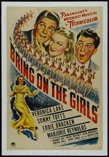 Bring on the Girls 1945 DVD Eddie Bracken, Veronica Lake, Sonny Tufts