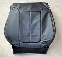 OEM FORD F-SERIES F150 LARIAT SEAT COVER RIGHT FRONT BACK LEATHER BLACK