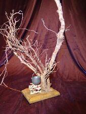 Krippenzubehör Feuerstelle Baum  Beleuchtet Krippe Modellbau Lampe