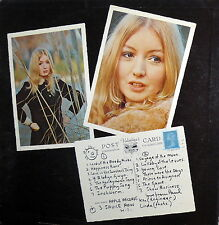 "12""  MARY HOPKIN  POST CARD ( McCARTNEY)    LP APPLE RECORDS  - U.S.A.   ST 3351"