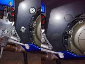 Honda Blackbird CBR1100 XX Motorcycle Frame Hole Plugs Low cost improvement