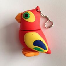 1 New Cute Novelty Parrot, 128MB USB Flash Drive Memory Stick