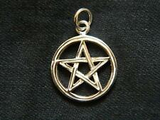 925 Sterling Silver PENTAGRAM PENDANT /Pagan/Wicca/Witch/Goth