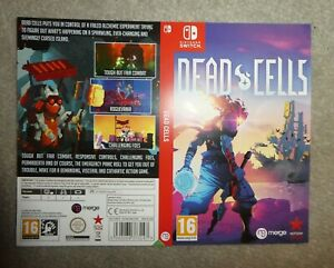 NO GAME OR BOX Nintendo Switch Dead Cells replacement Sleeve shop display