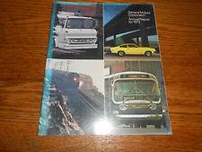 1973 GENERAL MOTORS ANNUAL REPORT / '73 GM BROCHURE / 1974 Cars Trucks &MORE