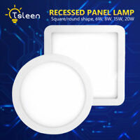 Instant Start LED Recessed Ceiling Panel Down Lights Spot Lamp Fixture + Driver