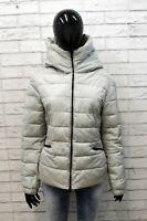 Guess Donna Giacca Taglia 48 Cappotto Piumino Grigio Giubbotto Jacket Woman Grey