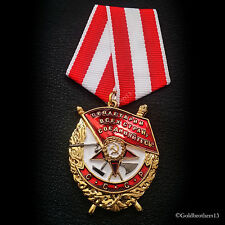 Order of the Red Banner First Soviet Military Decoration Russian Medal USSR Copy